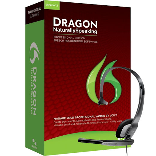 NUANCE A209A-G00-12.0 Dragon NaturallySpeaking Profession...