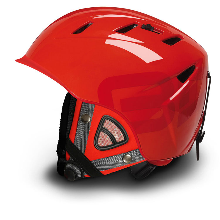 Briko 10.0 Contest Ski Helmet Slope Style Speedriding Red w Contest Ears included Medium 57-58 CM by SOGEN SPORTS INC.