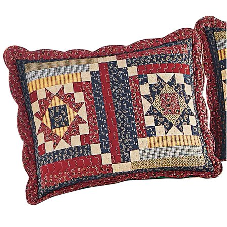 Country Cottage Paisley Pillow - Baby Sam Paisley Splash