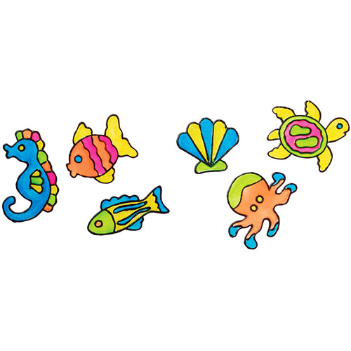 Alex toys window stickers kit fancy fish