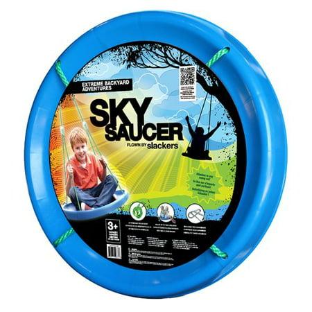 Slackers Sky Saucer Swing - Slackers Zipline