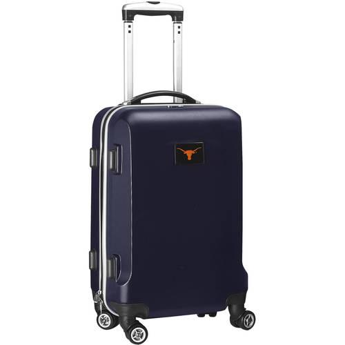 NCAA Texas Longhorns Navy Hardcase Spinner Carry On Suitcase