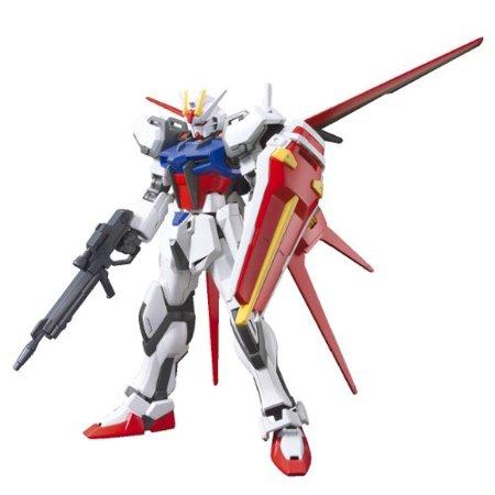 Bandai Hobby Bandai Hobby HGCE Aile Strike Gundam HG 1/144 Scale Model Kit - Gundam Seed Freedom Gundam