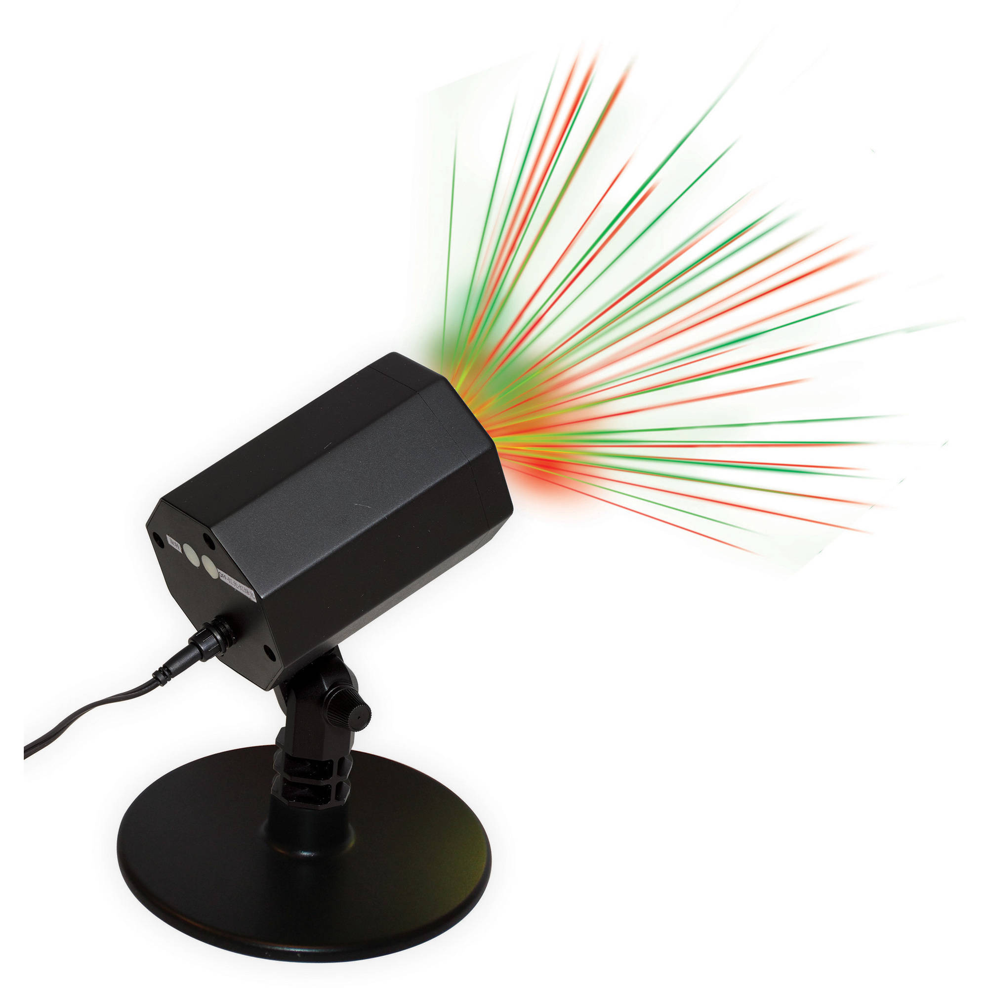 Holiday Time Christmas Outdoor Laser Light, Red / Green