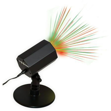 Holiday Time Christmas Outdoor Laser Motion Light Red