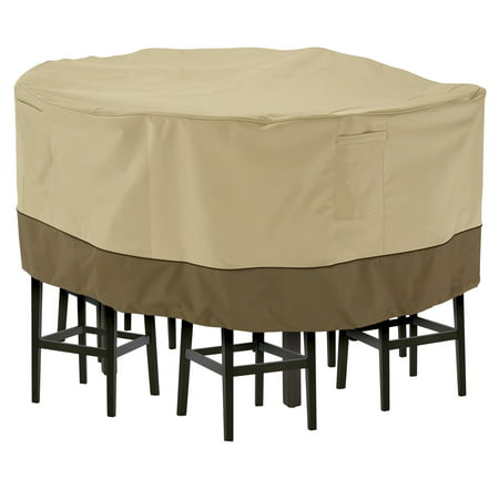 Classic Accessories Veranda™ Tall Round Patio Table & Chair Set Cover ()
