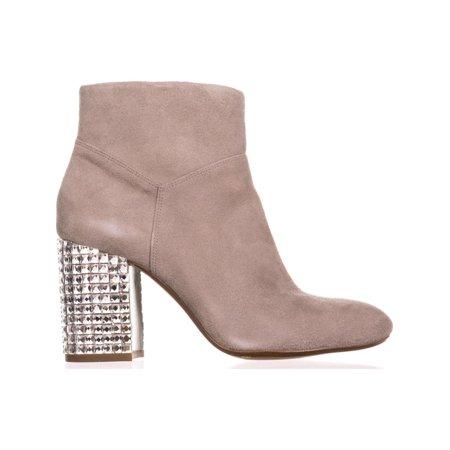 ba359d7f148a4 MICHAEL Michael Kors Arabella Studded Heel Ankle Boots, Pearl Grey ...
