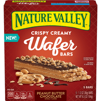 Nature Valley Crispy Creamy Wafer Bars Peanut Butter Chocolate