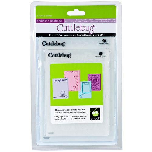 Cuttlebug Embossing Folders, Cricut Companions
