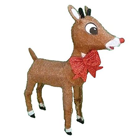 rudolph the red nosed reindeer lightup rudolph outdoor christmas decoration - Rudolph The Red Nosed Reindeer Christmas Decorations