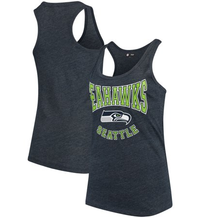 4f34ce65 Seattle Seahawks 5th & Ocean by New Era Women's Training Camp Tri-Blend  Tank Top - College Navy