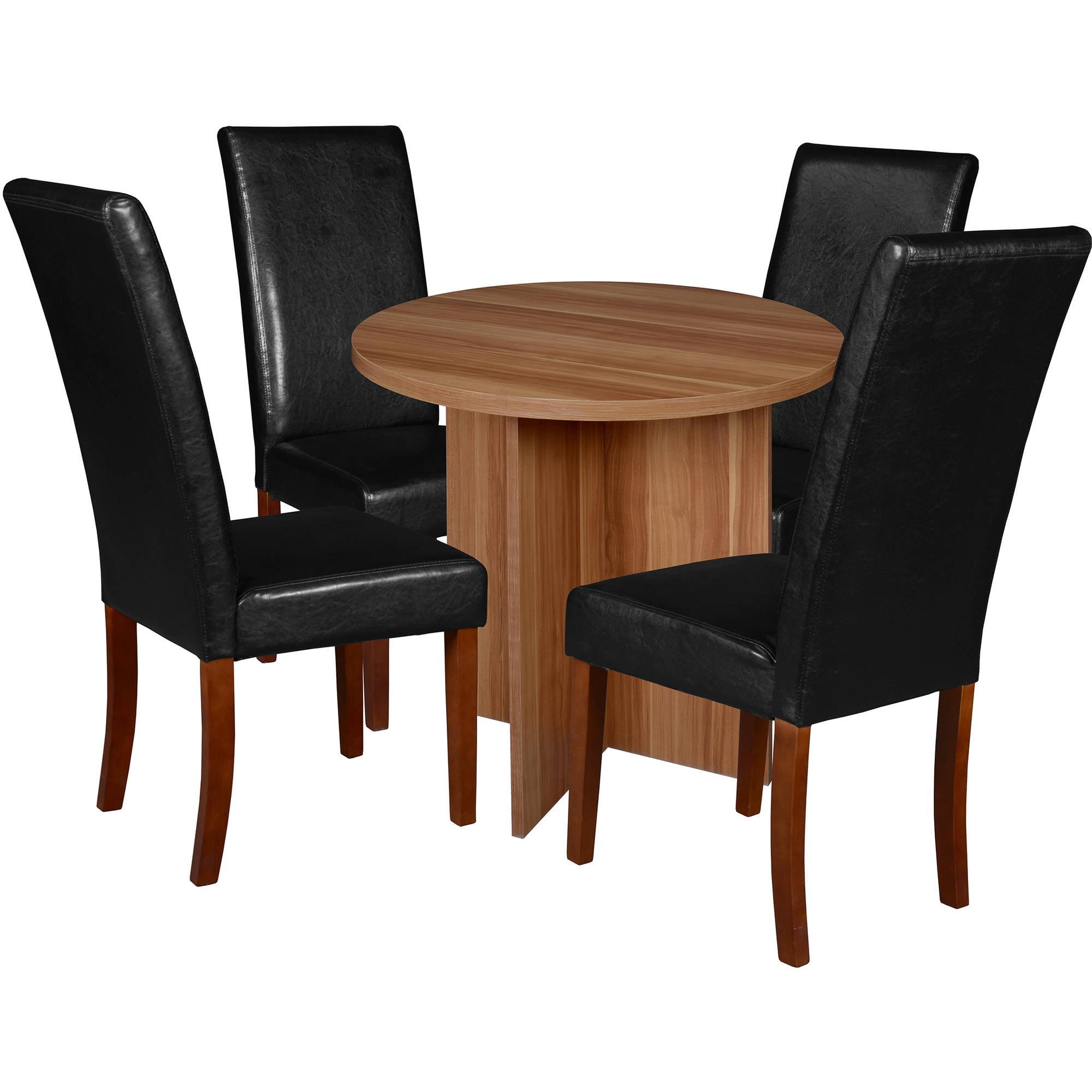 """Regency Niche Mod 30"""" Round Table- Warm Cherry & 4 Tyler ..."""