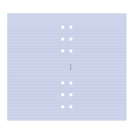 Personal Ruled Notepaper - Filofax - Papers Ruled Notepaper - Lavender - Personal Size