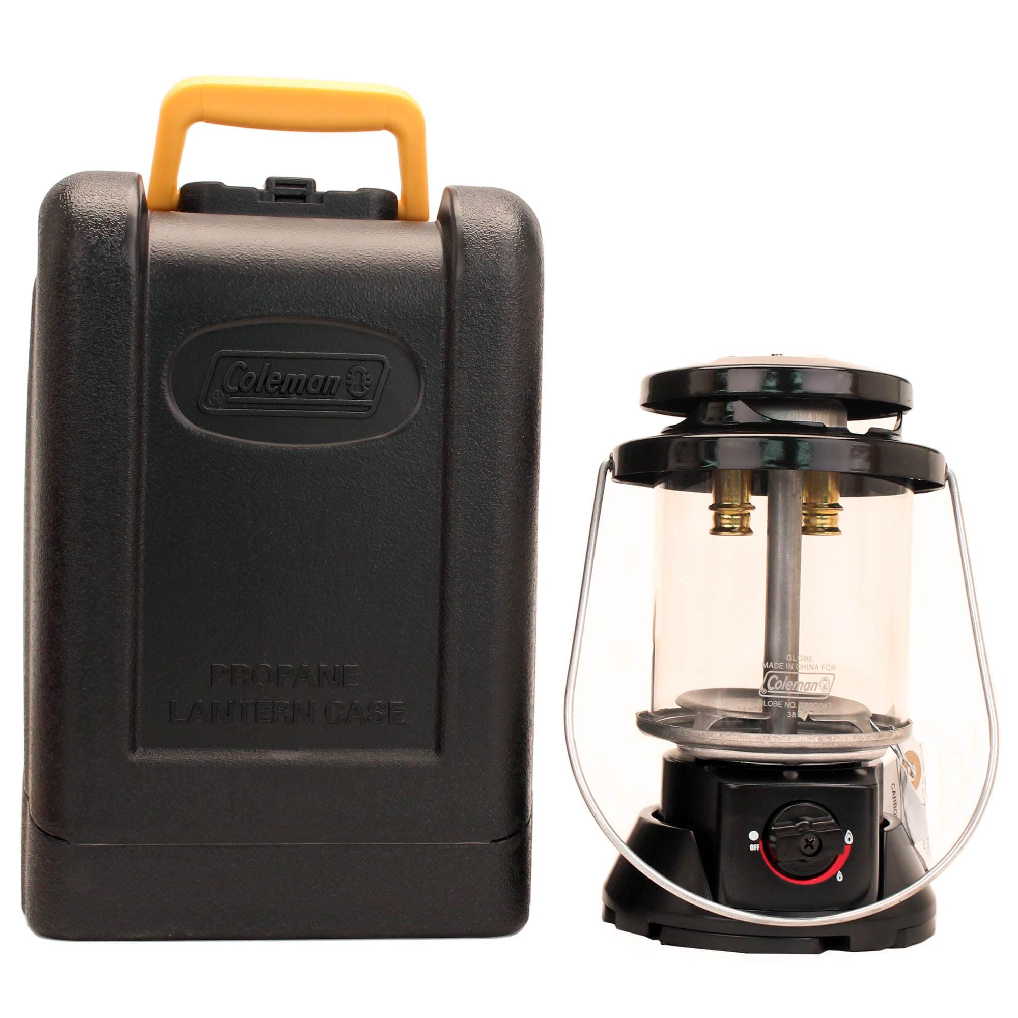 Coleman Deluxe Propane Lantern w/Hard Carry Case 2-26520