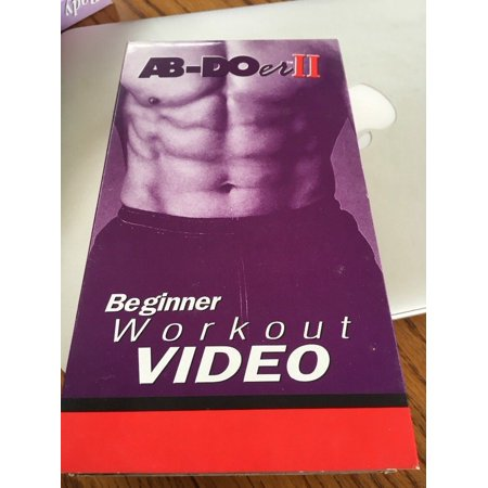 AB Doer II Beginner Workout Video VHS 2000 Thane Fitness John Abdo