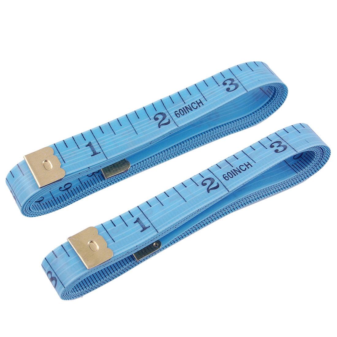 Unique Bargains 5-Foot Inch/Metric Soft Fiberglass Tape Measure Sewing Tailor Cloth Ruler 2 Pcs