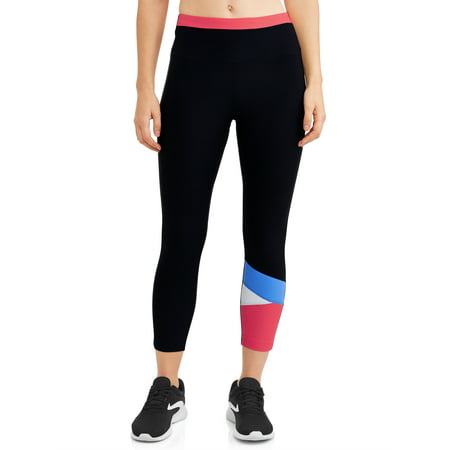 Women's Active Colorblock Capri Leggings