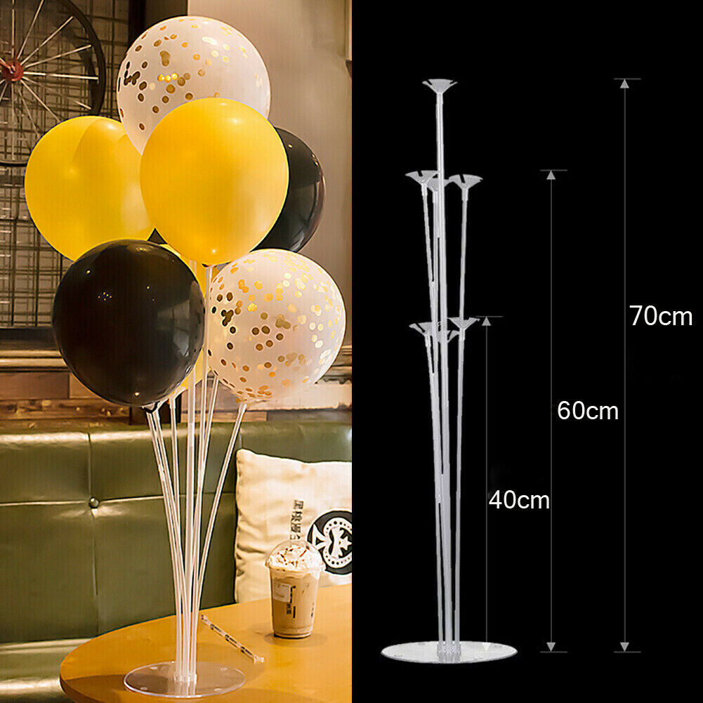 Plastic Balloon Accessory Base Table Support Holder Cup Stick Stand Decoration
