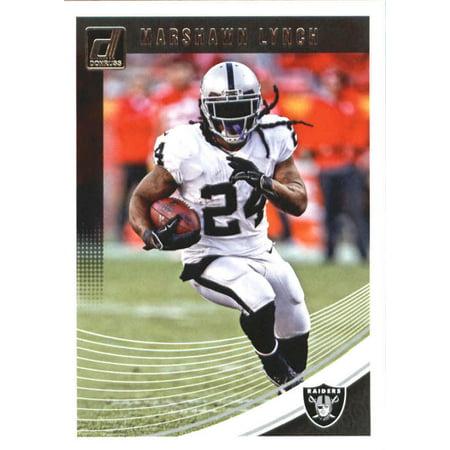 - 2018 Donruss #220 Marshawn Lynch Oakland Raiders Football Card