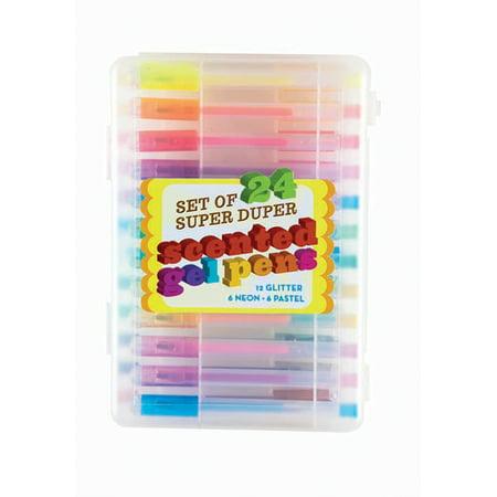 Ooly - Super Duper Scented Gel Pens (Set of 24)](Scented Pens)