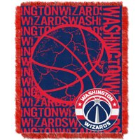 Washington Wizards The Northwest Company 46'' x 60'' Double Play Jacquard Throw - No Size