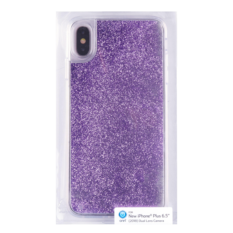 iphone xs case glitter liquid