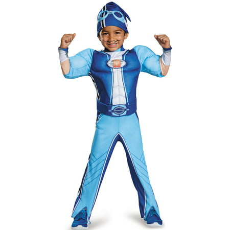 Lazytown Sportacus Muscle Chest Costume Toddler](Sportacus Costume)