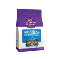 Old Mother Hubbard Classic Crunchy Natural Dog Treats, Original Assortment Small Biscuits