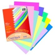 Array 8. 5 x 11 inch Acid-Free Heavy Weight Card Stock - Pastel & Bright, Pack 250