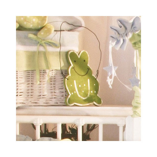 Brandee Danielle Sammy the Frog Frog Hanging Art