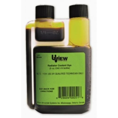 Uview 483908 Radiator Coolant Dye - 8 Oz. Bottle