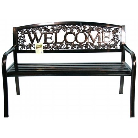 United General Supply Co Inc Metal Welcome Bench Tx94101
