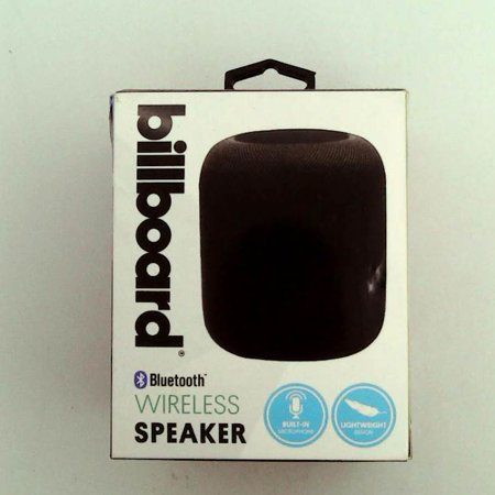 Refurbished Billboard wireless speaker/w bass enhanced speaker-black Refurbished-Billboard wireless speaker/w bass enhanced speaker-black