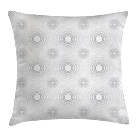 Grey Decor Throw Pillow Cushion Cover Spiral Contoured Diagonal Impressive Small Decorative Throw Pillows