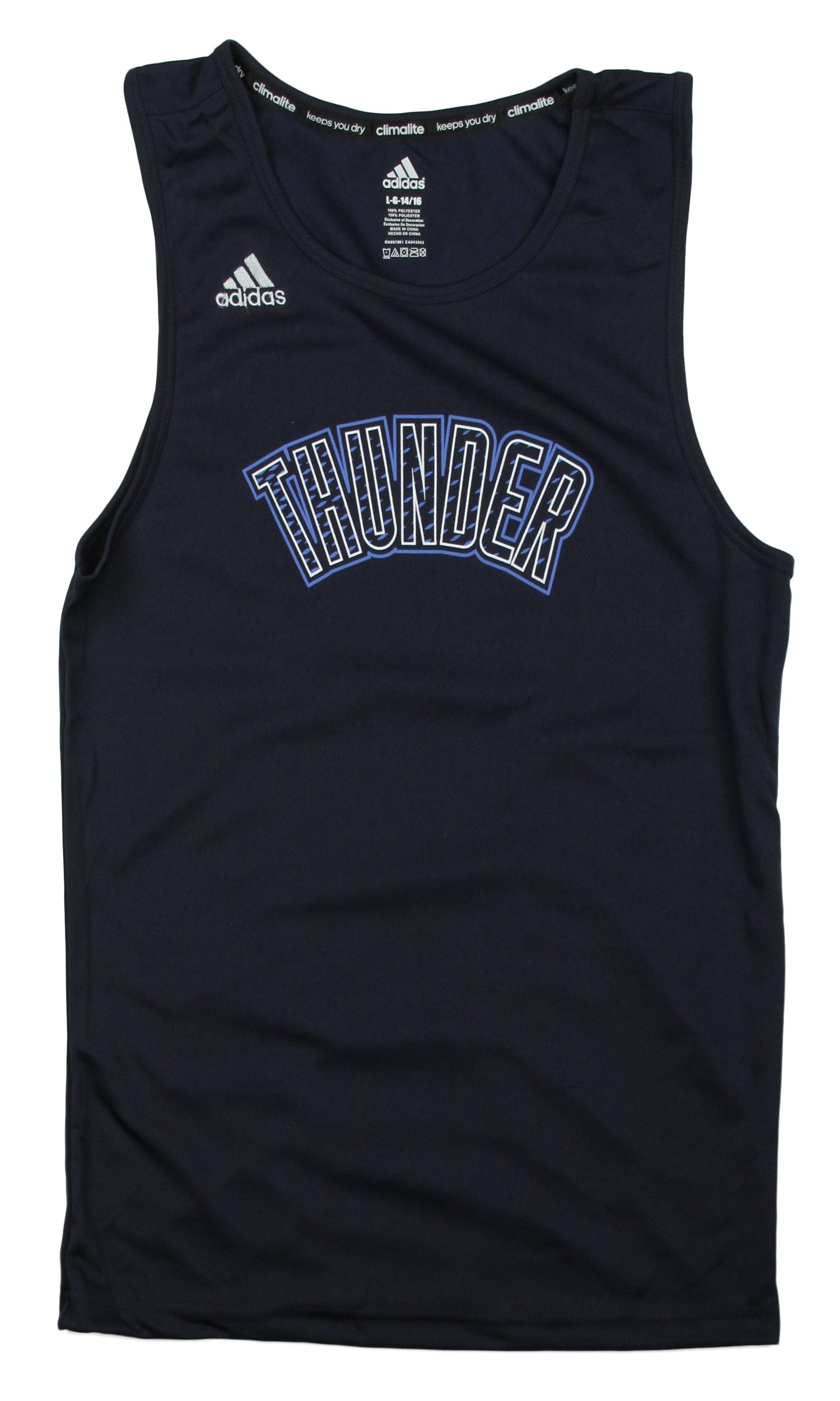 Perfect Youth Sleeveless Shirt City Thunder Nba Adidas Tank Oklahoma CxhrQtBsd