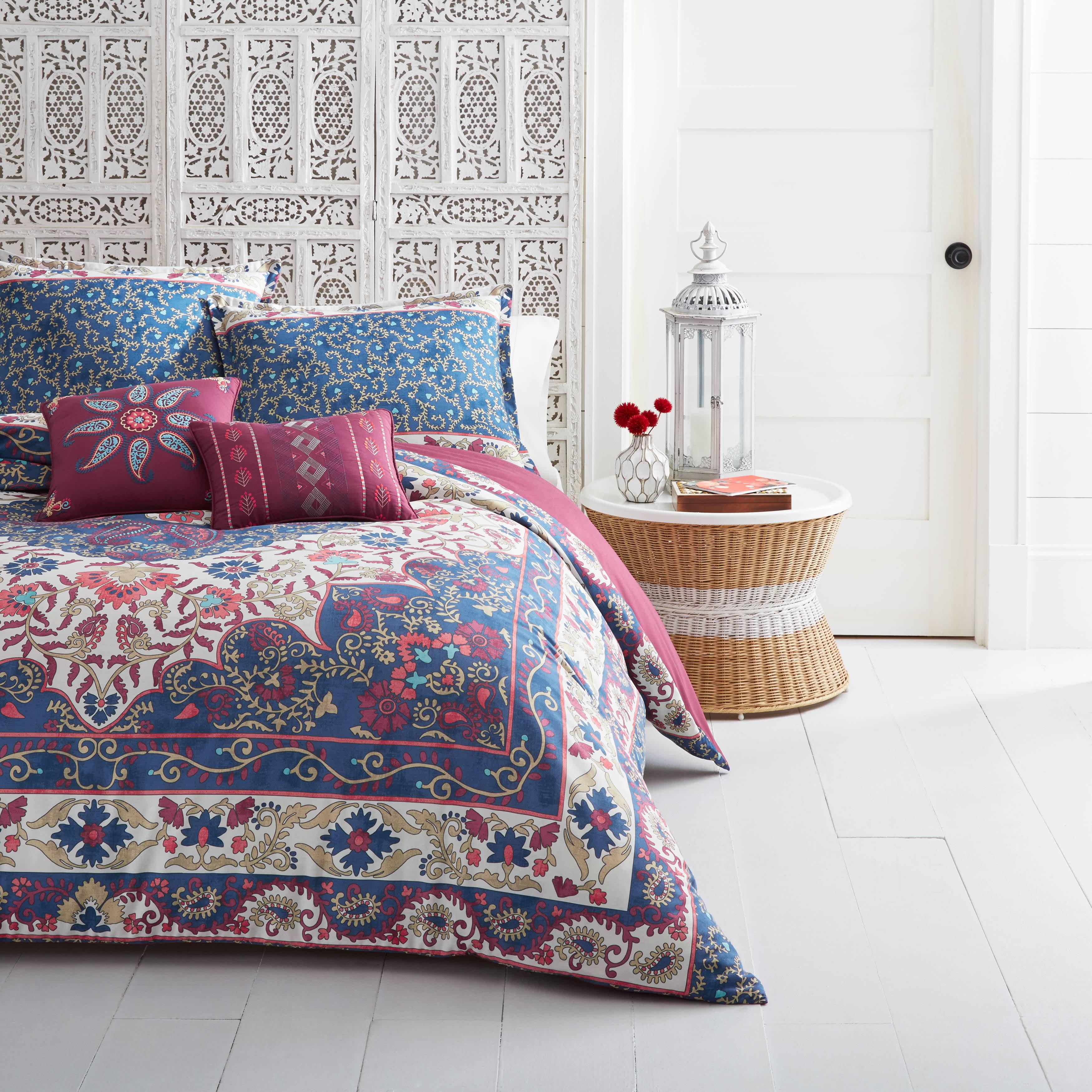 Bright Orange Twin Azalea Skye Rhea Comforter Set
