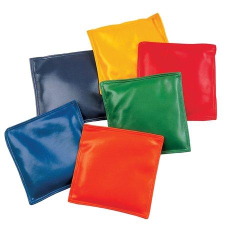 Bean Bags, 6u0022 x 6u0022, Pack of 12