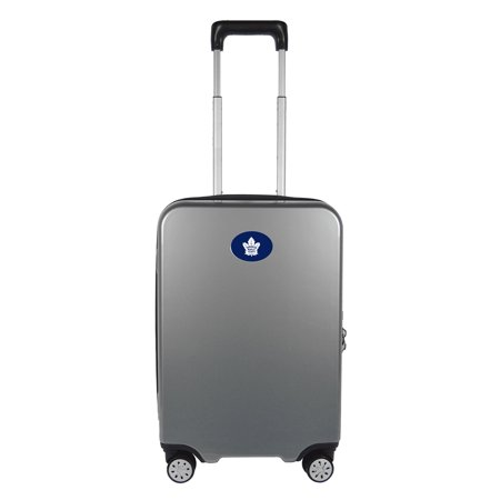 Maple Leaf Luggage (Mojo Licensing NHL Toronto Maple Leafs 22-in Hardcase Spinner Carry-on)