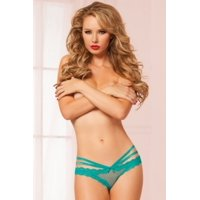 Turquoise Turquoise Laila Panty Seven 'til Midnight 10513 Turquoise