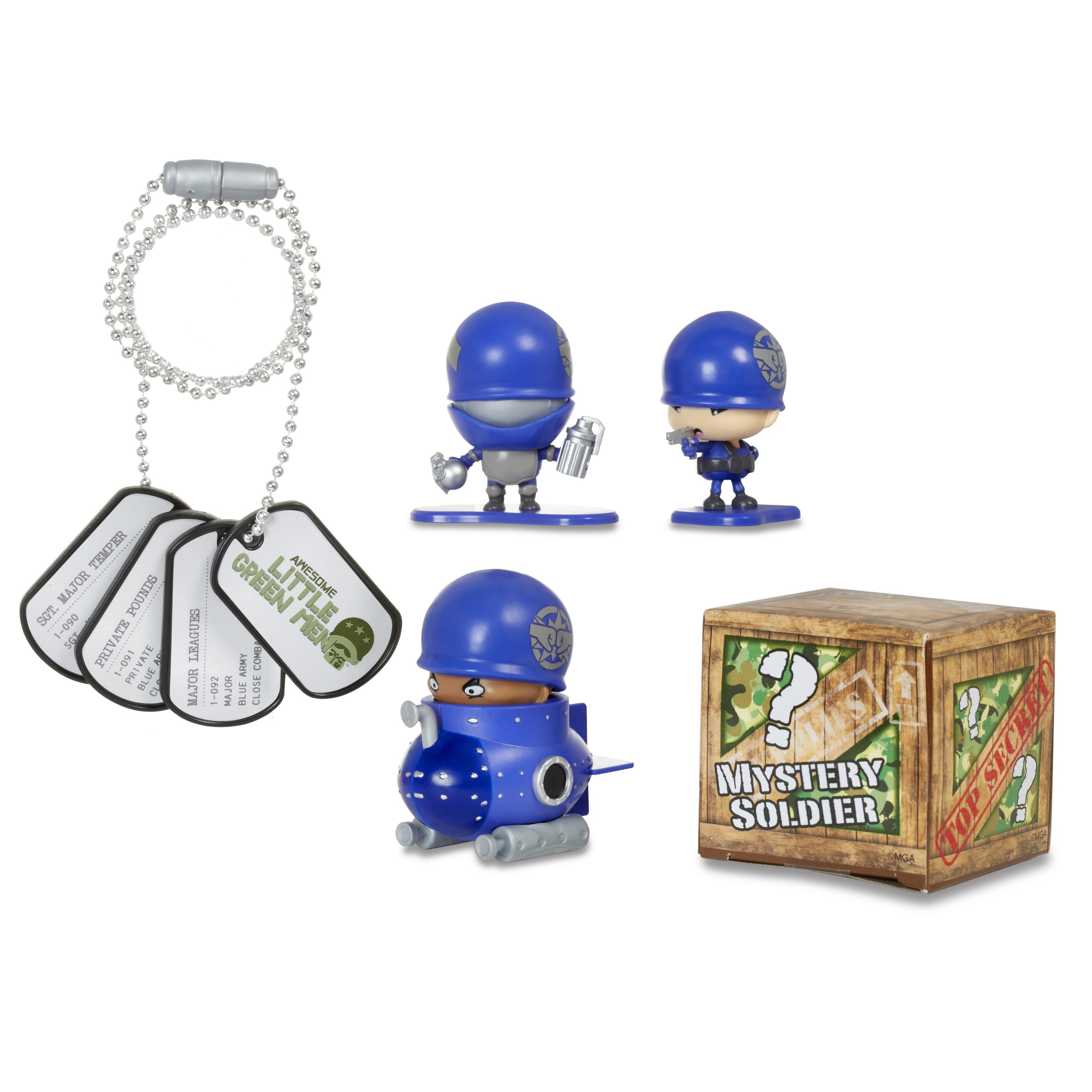 Awesome Little Green Men Series 1 Starter Pack - Close Combat Team