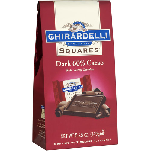 Ghirardelli Chocolate Squares 60% Cacao Dark Chocolate, 5.25 oz