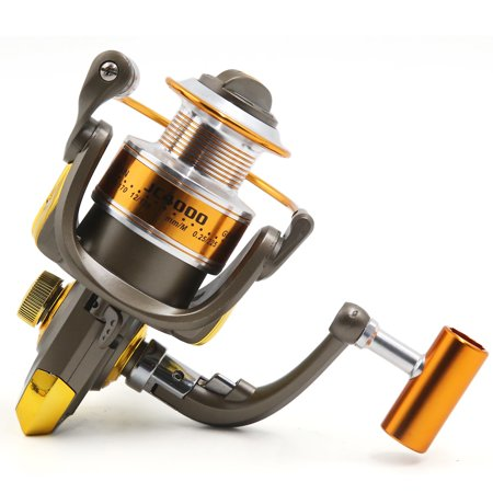 8BB 5.2:1 Foldable Spinning Reels Metal Left/Right Fishing Reel JC4000 - image 6 de 8