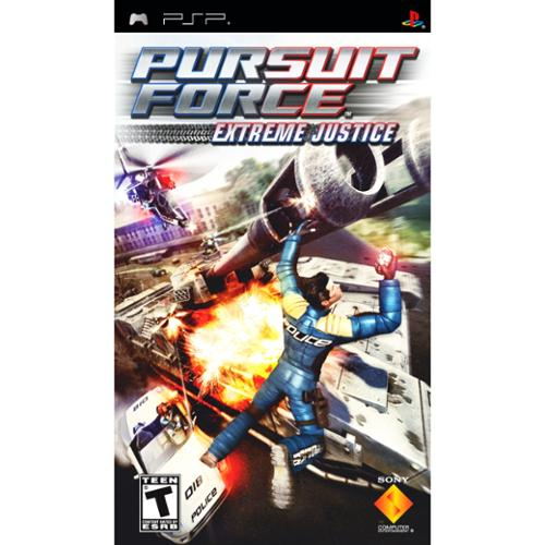 Sony 98703 Pursuit Force: Extreme Justice Psp