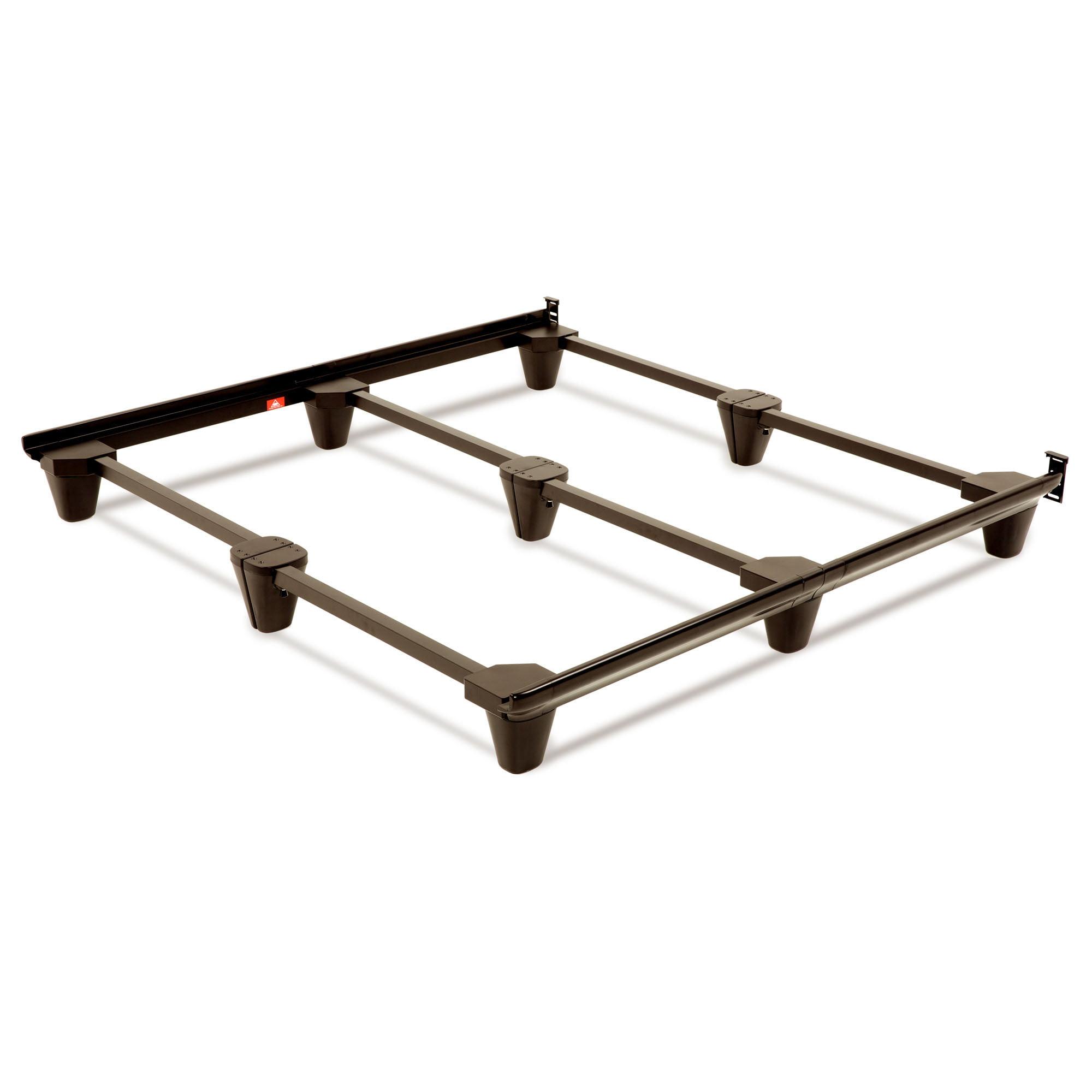 Presto Adjustable Bed Frame with Headboard Brackets California King Mahogany - Fashion Bed Group