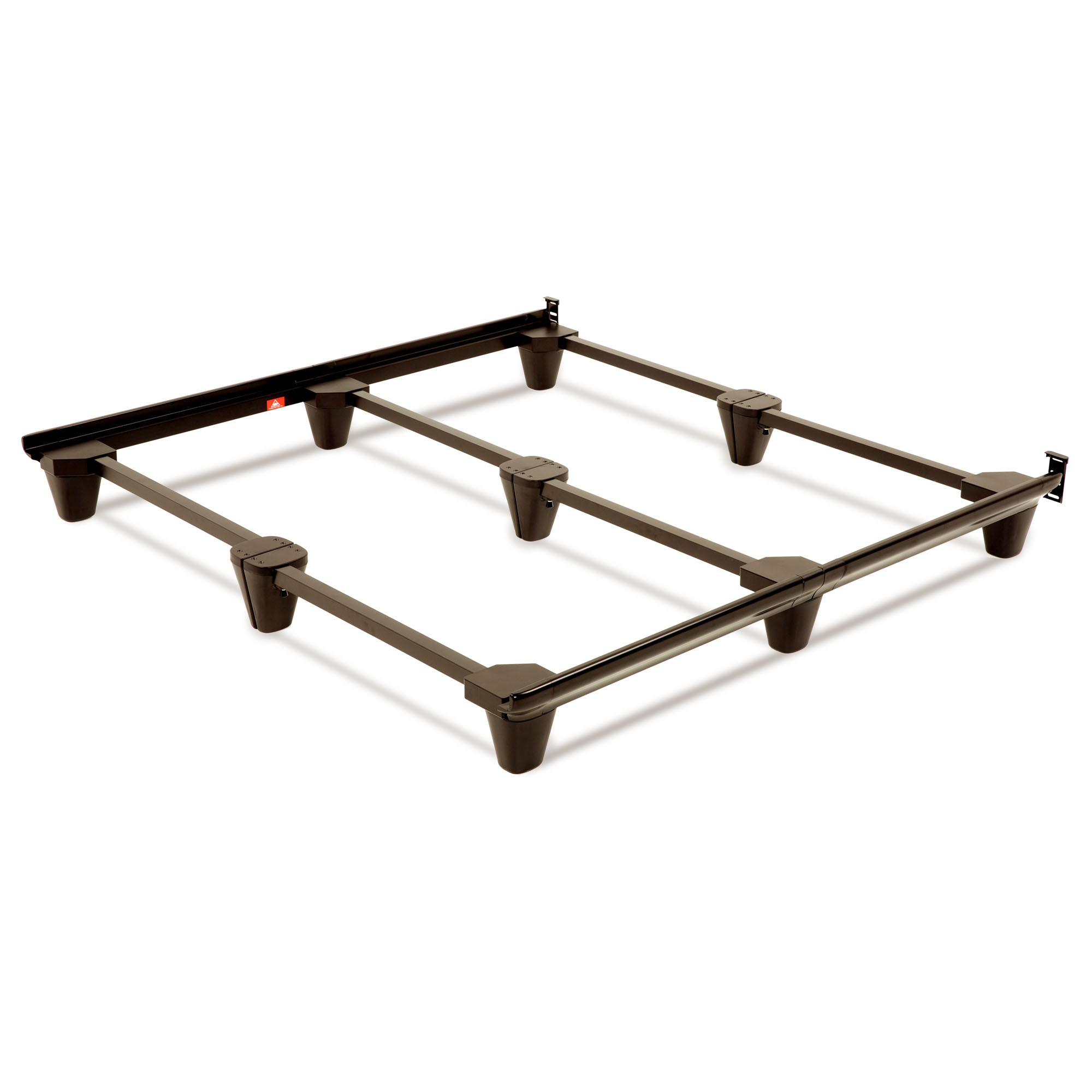 Presto Universal Sized Folding Bed Frame with Headboard Brackets