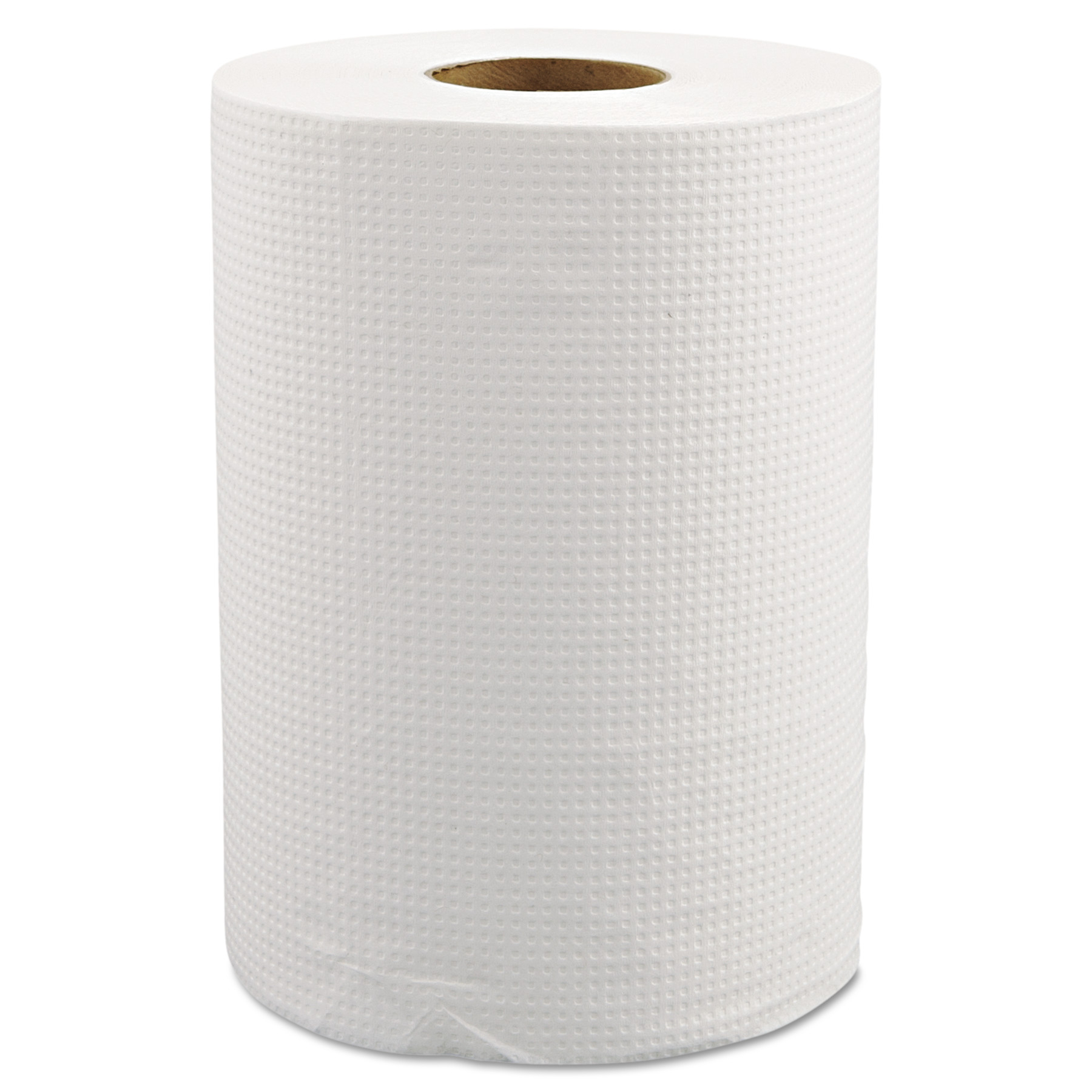 Morcon Paper Hardwound Roll Towels, White, 12 rolls