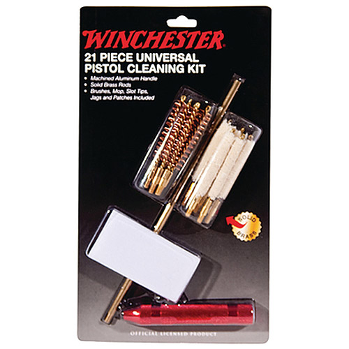 Winchester Universal Pistol Cleaning Kit, 21pc