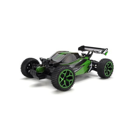 Dash Toyz Action Baja Remote Control RC Buggy 2.4 GHz 4WD 1:18 Scale Size RTR 20KM/H (Colors May Vary)