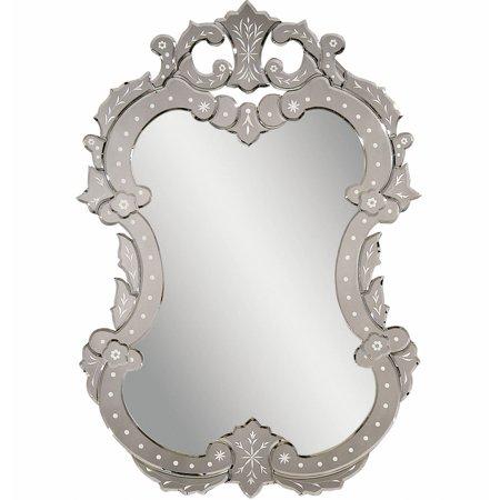 Towle Old Mirror (Bassett Old World Venetian II Wall Mirror in Venetian Glass )