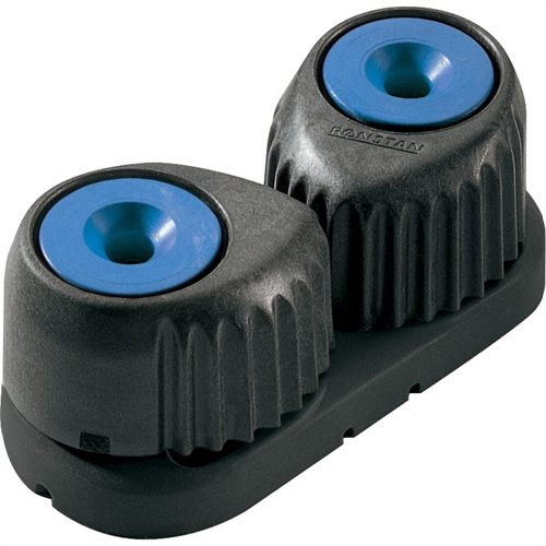 "Ronstan C-Cleat Cam Cleat - Medium - Blue with Black Base - 3-12mm (1/8"" - 1/2"") Rope Diameter RF5410B"